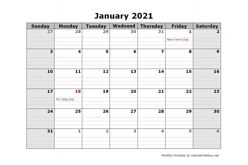 Pick Google Free Printable Calendars 2021