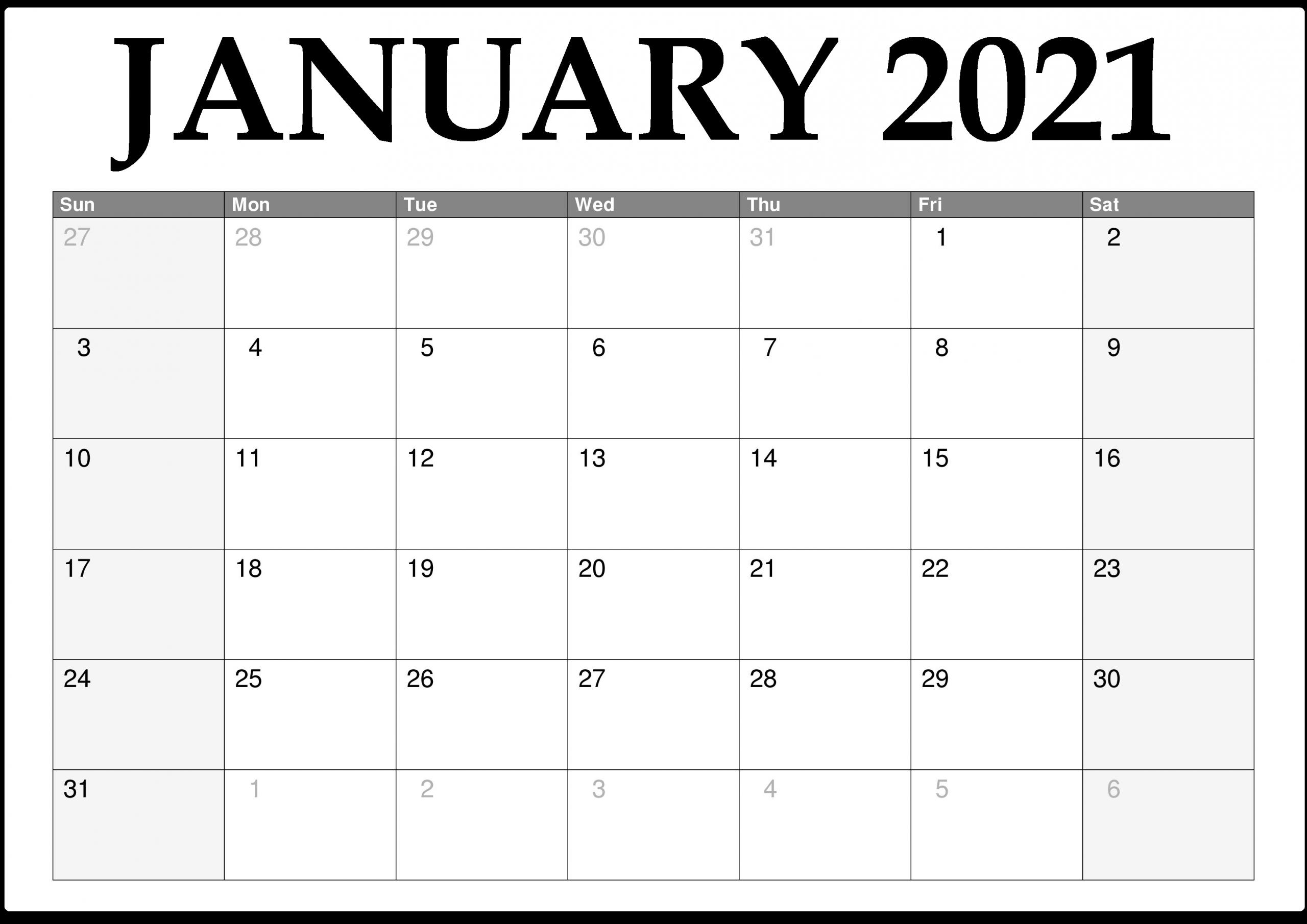 Pick No Download Printable Calendar