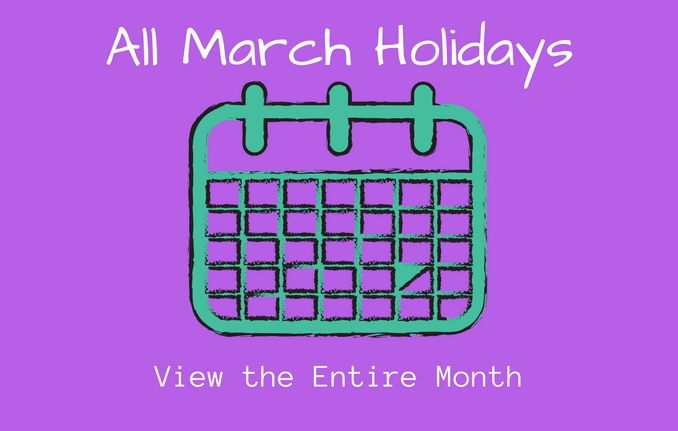 Take Days Of The Month Calendar With Special Days
